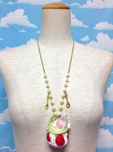 Ispahan Necklace in Pistachio x Lavender from Hexenhaus