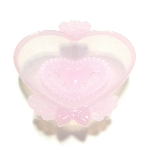 Jewel Soap Dish in Light Pink from SWIMMER