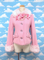 Jewelry Girl Coat in Pink from Angelic Pretty