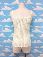 Knit Top in Ivory from Ray Cassin