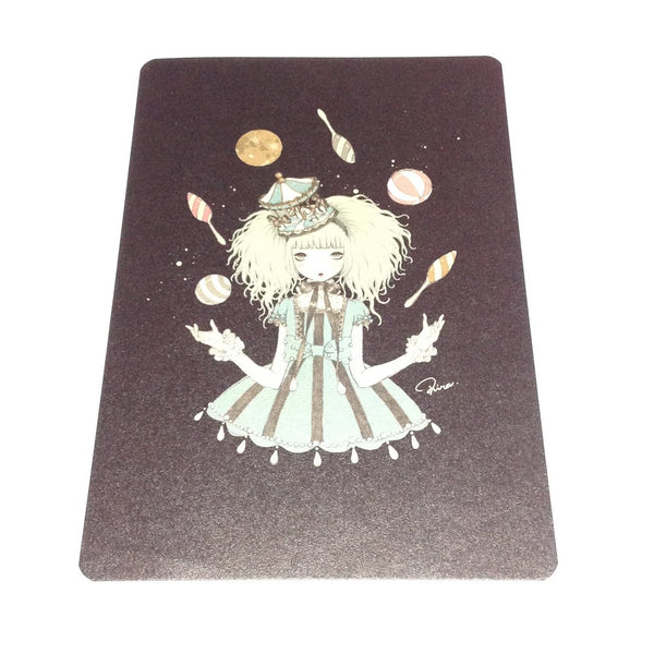"""Lapis"" Juggling Girl Postcard from Imai Kira"