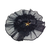 Little Star Canotier in Black from Angelic Pretty