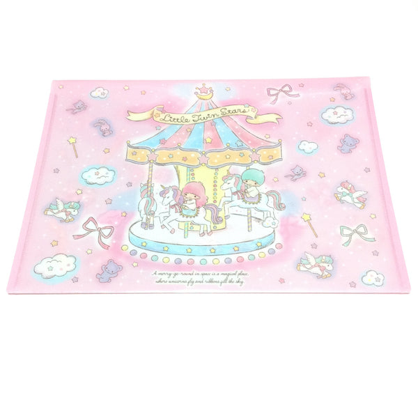 Little Twin Stars A4 Flat Case from Sanrio