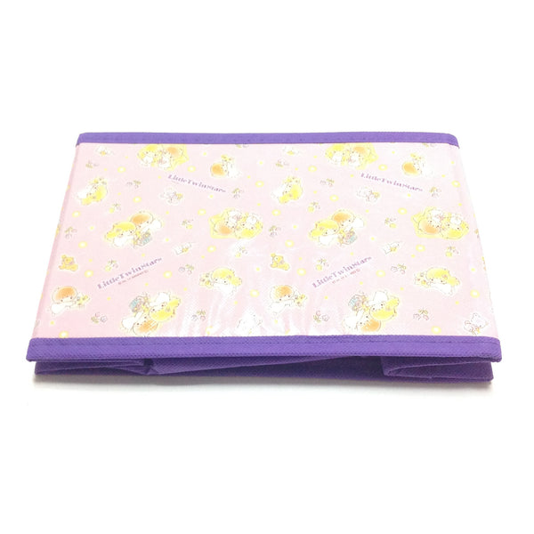 Little Twin Stars Foldable Box in Purple from Sanrio