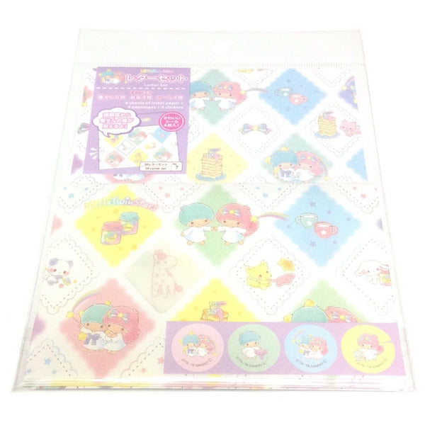 Little Twin Stars Letter Set (SR Open Like a Window) from Sanrio