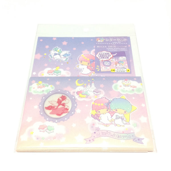 Little Twin Stars Letter Set from Sanrio