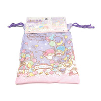 Little Twin Stars Mini Drawstring Bag from Sanrio