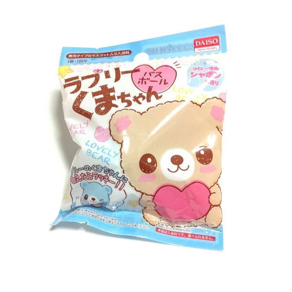 [Lovely Bear Chan] Bath Ball with Floral Bubble Scent