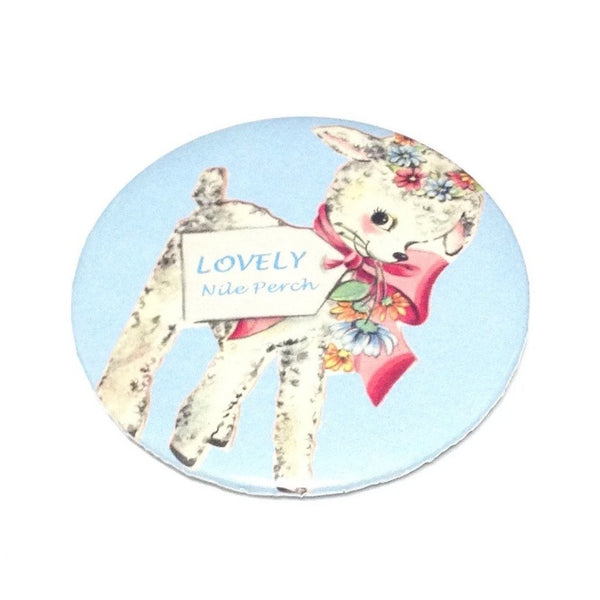 Lovely Lamb Badge in Sax from Nile Perch