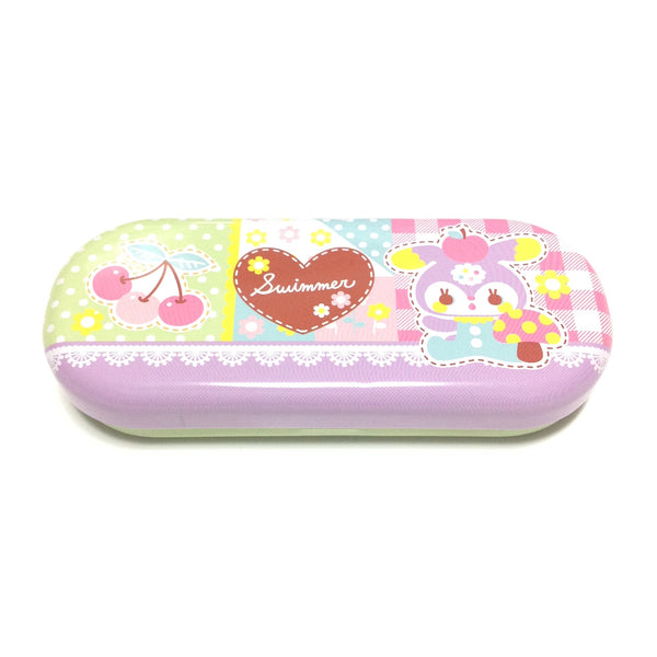 Lovely can glasses case (patchwork) from Swimmer