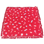 MIRACLE☆CANDY Cushion Cover in Red from Angelic Pretty