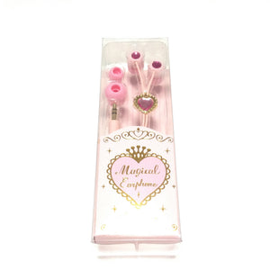 Magical Earphones in Pink from SWIMMER
