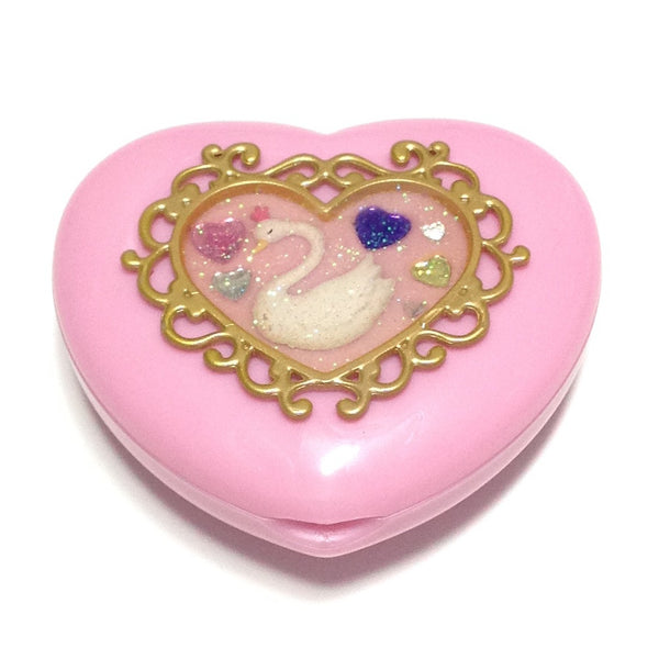 Magical Girl Compact (Heart, Swan) in Pink from SWIMMER