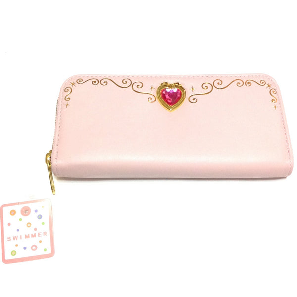Magical Heart Long Wallet in Pink from SWIMMER