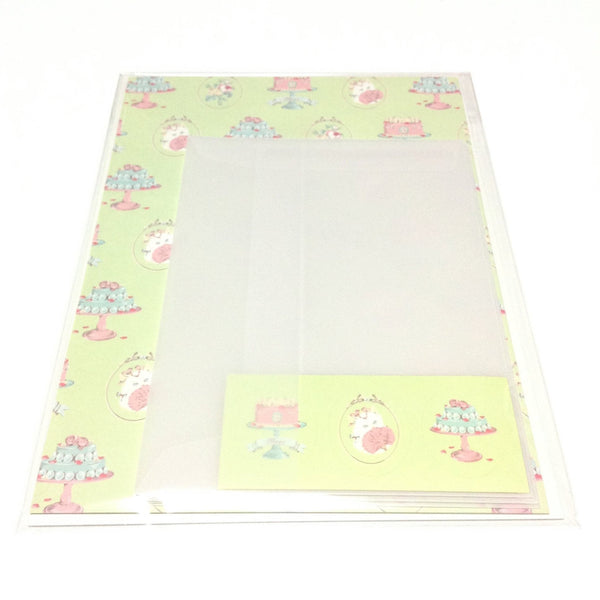 "Marie Nyantoinette ""Rose"" Letter Set from Imai Kira"