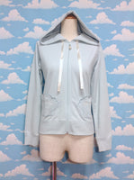 Marine Seashell Pocket Parka in Mint from SWIMMER