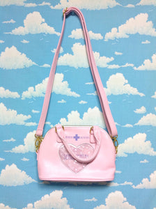 Medical Shoulder Bag in Light Pink from SWIMMER