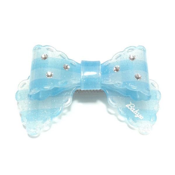 Meltaine Ribbon Barrette in Sax from Baby, the Stars Shine Bright
