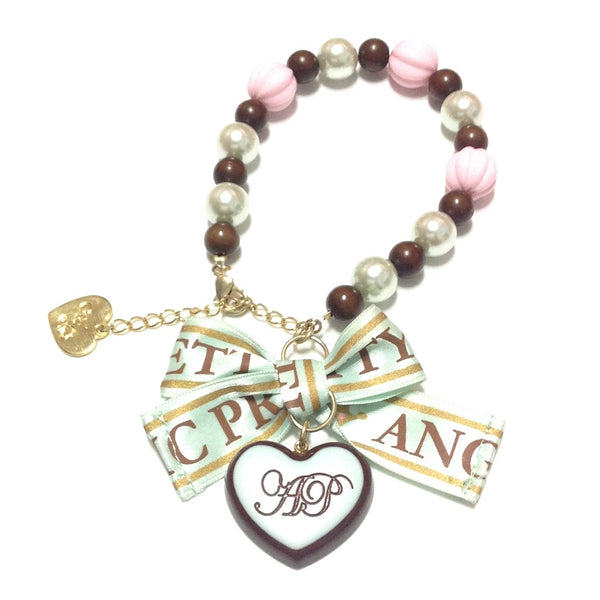 Melty Chocolate Bracelet in Mint from Angelic Pretty