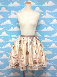 Melty Cream Doughnut Skirt (2016) in Beige from Angelic Pretty