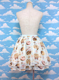 Melty Cream Doughnut Skirt (2016) in Sax from Angelic Pretty
