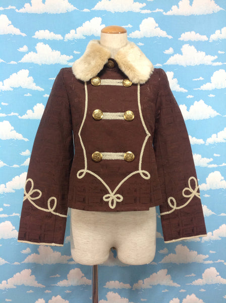 Melty Whip Chocolate Jacket in Chocolate from Angelic Pretty