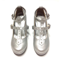 Milky Cross Shoes in Silver from Angelic Pretty
