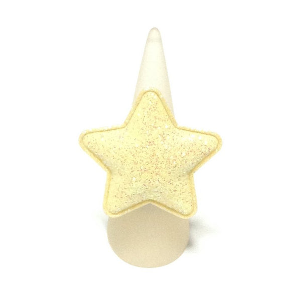Milky Way Ring in Glitter Yellow from Chocomint