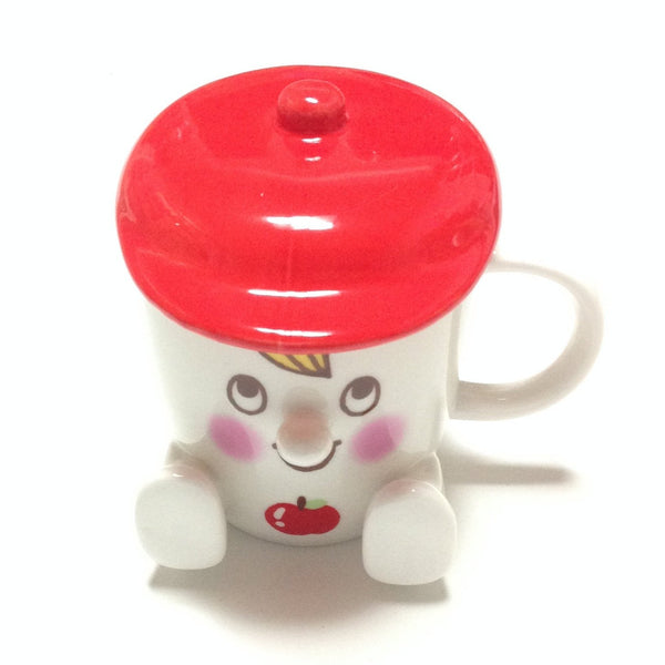 Mr. Mug Cup in Red from SWIMMER