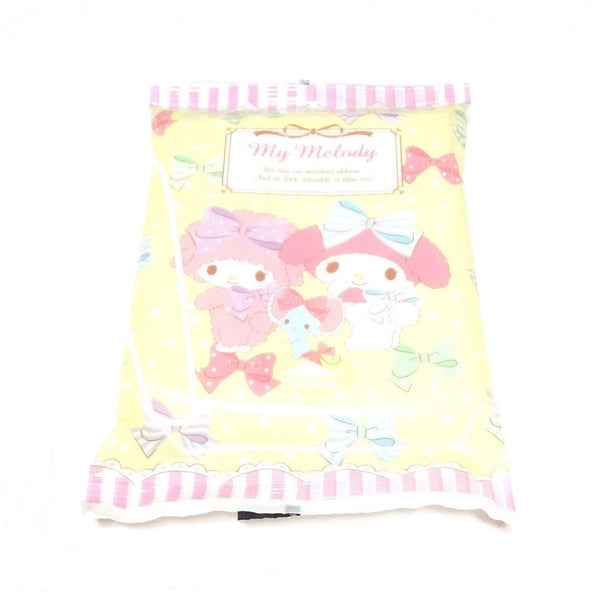 My Melody Alcohol Cleaning Wipes (Wet Tissues) in Yellow from Sanrio