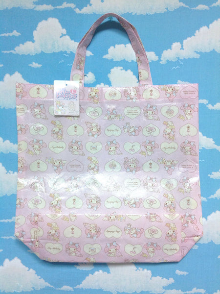 My Melody Daily Tote Bag (L, Stuffed Animals) from Sanrio
