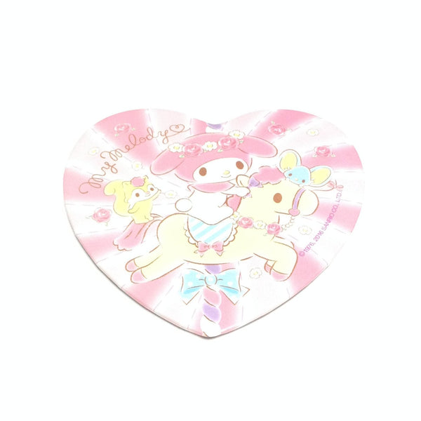 My Melody Heart Badge in Pink from Sanrio