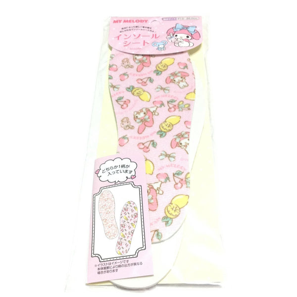 My Melody Insole Sheet (Fruits) from Sanrio