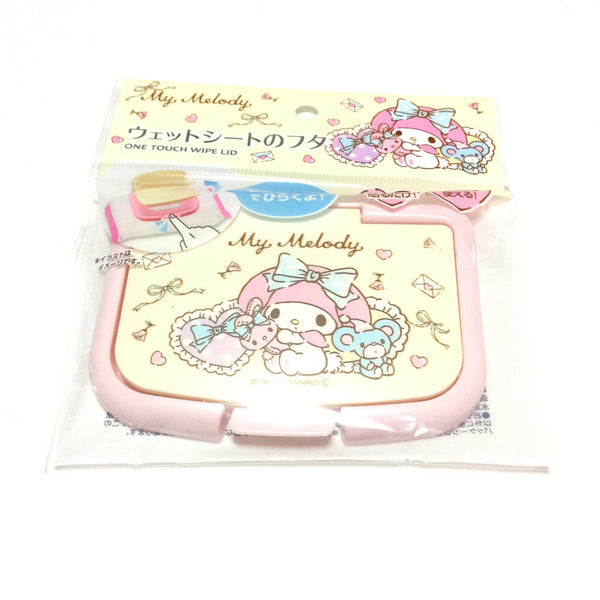My Melody One Touch Wipe Lid from Sanrio