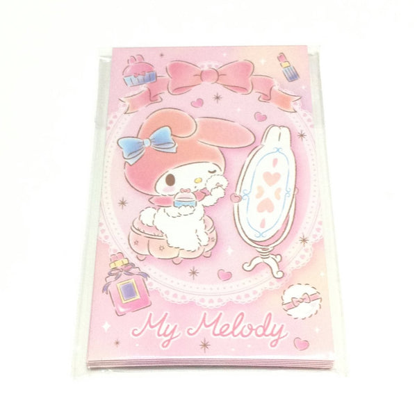 My Melody Petite Envelope and Sticker Set from Sanrio
