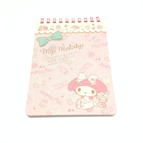 My Melody Ring Memo Pad (Fashionable Logo) from Sanrio