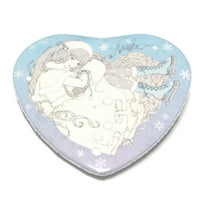 Neige Heart Tin Badge from Imai Kira