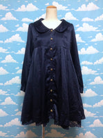 Night Rose OP (One Piece)/Jacket  in Navy from Axes Femme