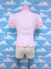 Organdy Bow Tie Blouse in Pink from Angelic Pretty