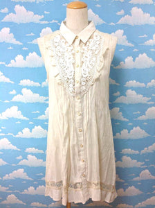 Original Lace Dress in Ivory from Axes Femme