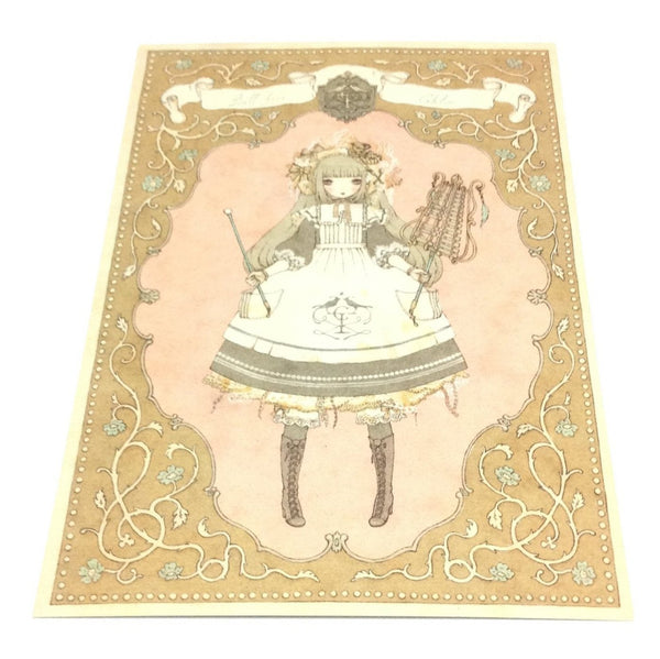 """Girl's Orchestra Kanaria, Chloe"" Postcard from Imai Kira (#PC-42)"