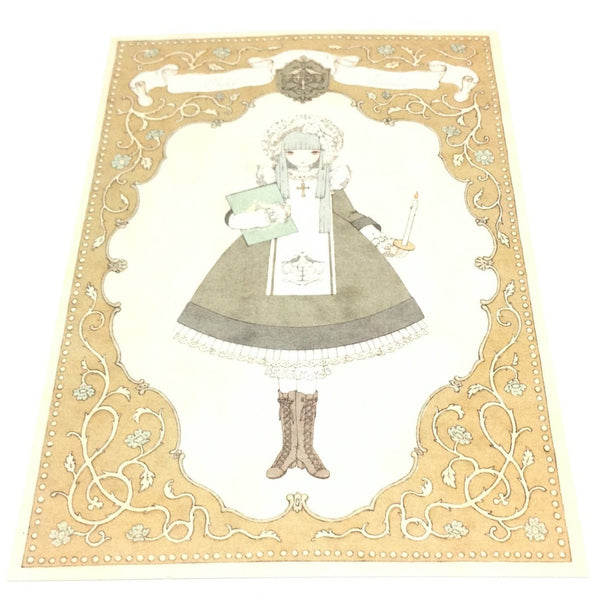 """Girl's Orchestra Kanaria, Peridot"" Postcard from Imai Kira (#PC-99)"