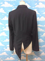 Asymmetrical Tailcoat in Black from Peace Now