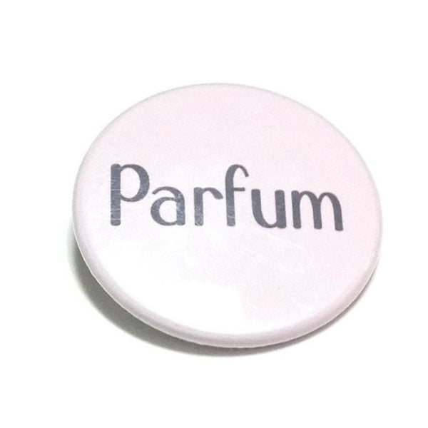 """Parfum"" Badge in Lavender"