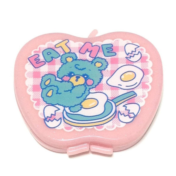Petit Dress Up Apple, Comb and Mirror Set (Eat Me) from SWIMMER