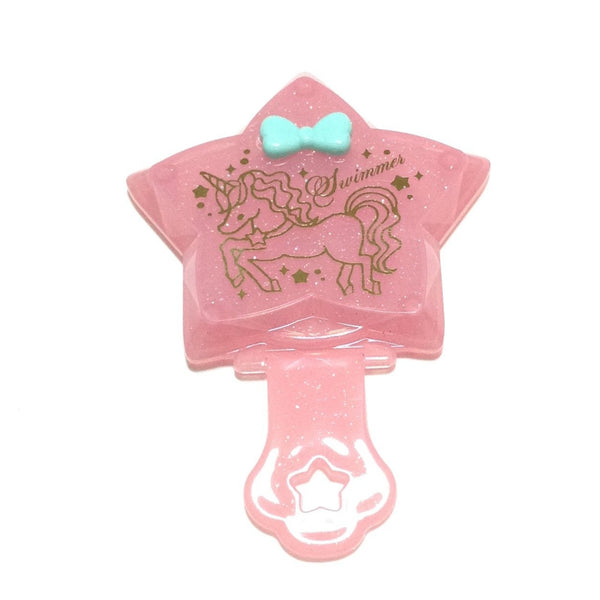 Petite Diamond Mirror (Unicorn) in Pink from SWIMMER