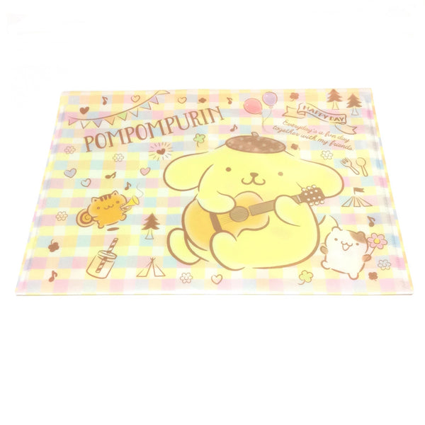 Pompompurin A4 Flat Case from Sanrio