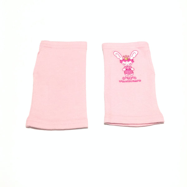 Princess Bunny Arm Covers in Pink from Maxicimam