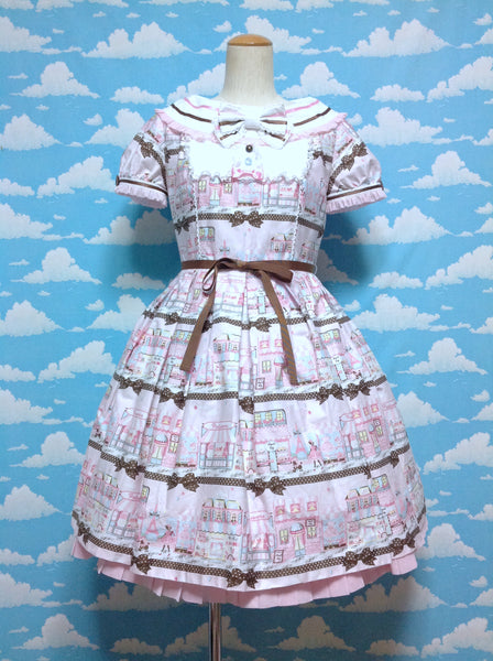 Promenade de Paris OP in Pink from Angelic Pretty