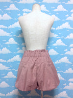 Puffy Shorts in Muted Pink